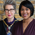 Anne Marie Rafferty and Yvonne Coghill
