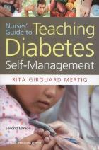 Mertig R (2012) Nurses' guide to teaching diabetes self-management, New York: Springer.
