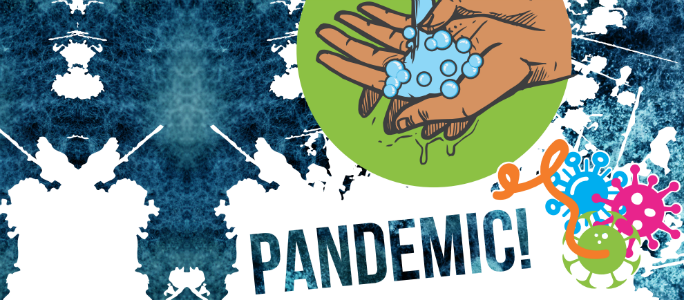 Current exhibition front page Pandemic